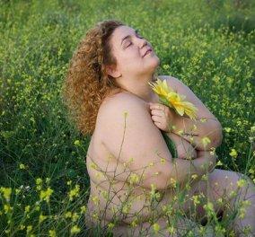 Η Αφροδίτη Γεροκωνσταντή: «Αυτό είναι το χοντρό σώμα μου» - εντελώς γυμνές φωτογραφίες του plus size μοντέλου & ηθοποιού - Κυρίως Φωτογραφία - Gallery - Video