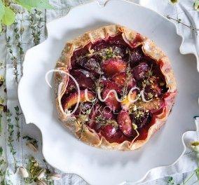 Μια απολαυστική συνταγή από την Ντίνα Νικολάου: Galette με ζουμερές βανίλιες, τραγανό φύλλο και βελούδινη κρέμα φυστικιού - Κυρίως Φωτογραφία - Gallery - Video