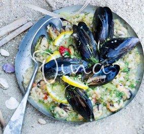 Πλιγούρι με μύδια και άνηθο από τη Ντίνα Νικολάου: Οι γεύσεις της θάλασσας και του καλοκαιριού σε ένα λαχταριστό πιάτο - Κυρίως Φωτογραφία - Gallery - Video