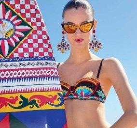 Καλοκαιρινός αέρας στην πιο πολύχρωμη συλλογή του Dolce & Gabbana: Μαγιό, ρούχα, αξεσουάρ… και φύγαμε για διακοπές (φωτό & βίντεο) - Κυρίως Φωτογραφία - Gallery - Video