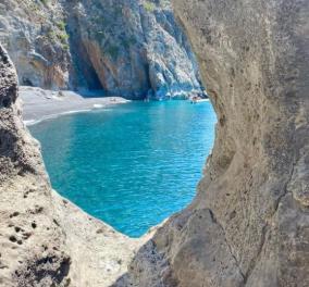 Greek summer 2021: Ο @nikos_korkakakis παρουσιάζει την ''μυστική'' παραλία Καλόγερος στα Χανιά- Οι Έλληνες φωτογράφοι προτείνουν - Κυρίως Φωτογραφία - Gallery - Video