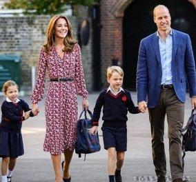 Η Kate Middleton και ο πρίγκιπας William γιορτάζουν τα γενέθλια του γιου τους πρίγκιπα George - ο μελλοντικός βασιλιάς έγινε 8 (φωτό) - Κυρίως Φωτογραφία - Gallery - Video