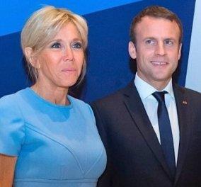 Όταν η Brigitte Macron στήθηκε για την family photo του ΝΑΤΟ πλάι με την Μέρκελ - ο Emmanuel τι έκανε; Εδώ σας θέλω (βίντεο) - Κυρίως Φωτογραφία - Gallery - Video