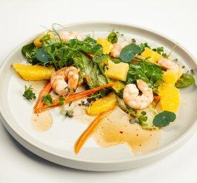 Ένα πεντανόστιμο και ελαφρύ πιάτο για τις ημέρες του καύσωνα: Σαλάτα με γαρίδες και ανανά δια χειρός Άκη Πετρετζίκη (βίντεο) - Κυρίως Φωτογραφία - Gallery - Video