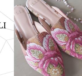 Made in Greece η Έλλη Λυραράκη: Η Κρητικιά σχεδιάστρια δημιουργεί παπούτσια & κοσμήματα με έμπνευση από τον μινωικό πολιτισμό (φωτό) - Κυρίως Φωτογραφία - Gallery - Video