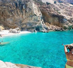 Greek summer 2021: Η @katerinakatopis παρουσιάζει την παραλία Σεϋχέλλες στην Ικαρία - Οι Έλληνες φωτογράφοι προτείνουν - Κυρίως Φωτογραφία - Gallery - Video