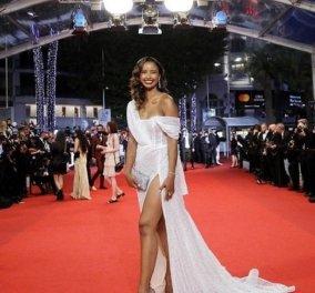 Σέξι κι όποιος αντέξει: Με glam αποκαλυπτική τουαλέτα η Flora Coquerel στις Κάννες - Όλα τα βλέμματα στην Miss France 2014 (φώτο) - Κυρίως Φωτογραφία - Gallery - Video