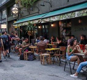 Νέα μέτρα μετά την αύξηση κρουσμάτων: Μόνο με καθήμενους από αύριο οι χώροι εστίασης, τα μπαρ, τα κλαμπ και τα κέντρα διασκέδασης - Κυρίως Φωτογραφία - Gallery - Video