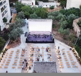 Good news: Ένα στολίδι - θερινό σινεμά ανοίγει ξανά μετά από 30 χρόνια  - Ο ΑΒ στη γειτονιά των Πατησίων - Κυρίως Φωτογραφία - Gallery - Video