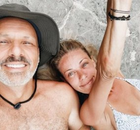 Νίκος Μουτσινάς - Ζέτα Μακρυπούλια: Οι φωτό από τις διακοπές τους - «Εύχομαι να βρείτε μια τέτοια ψυχή για να νιώσετε τι σημαίνει φιλία» - Κυρίως Φωτογραφία - Gallery - Video