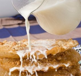 Ο Στέλιος Παρλιάρος μας ταξιδεύει στην Αφρική με Pastilla au lait - Το μαροκινό γλυκό με φύλλο και ξηρούς καρπούς - Κυρίως Φωτογραφία - Gallery - Video