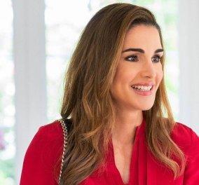 Τα outfits της βασίλισσας Ράνιας της Ιορδανίας στην Ουάσιγκτον: Κόκκινο, λευκό, πράσινο & μια υπέροχη φούξια φούστα Valentino (φωτό) - Κυρίως Φωτογραφία - Gallery - Video