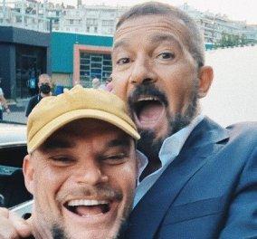 Η selfie του Antonio Banderas στην Θεσσαλονίκη - Στο σετ του The Enforcer και η συμπρωταγωνίστριά του Kate Bosworth (φωτό) - Κυρίως Φωτογραφία - Gallery - Video