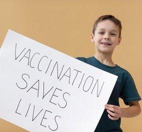 Κορωνοϊός: Ανοίγει η πλατφόρμα για τον εμβολιασμό κατά της Covid-19 των παιδιών άνω των 12 ετών - Κυρίως Φωτογραφία - Gallery - Video