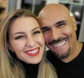 Φουλ ερωτευμένος με την γυναίκα του ο Δημήτρης Σκουλός: Το ποστ για τα γενέθλιά της - «Θα σ'αγαπώ μέχρι να σβήσει ο ήλιος» (φωτό) - Κυρίως Φωτογραφία - Gallery - Video