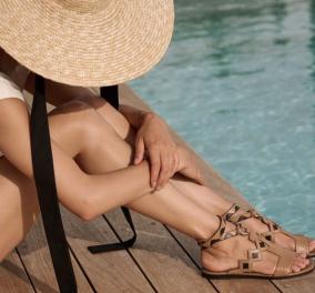 Made in Greece τα εκπληκτικά παπούτσια Di Gaia - Σανδάλια, slides, εσπαντρίγιες και hi-heeled πέδιλα (φωτό) - Κυρίως Φωτογραφία - Gallery - Video