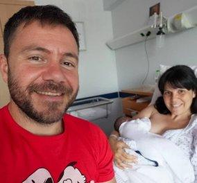 Σε πελάγη ευτυχίας ο Ευτύχης Μπλέτσας: H Ηλέκτρα γέννησε την δεύτερη κορούλα τους - ''Γίναμε 4! Αγάπη μου είσαι η ηρωίδα μου'' - Κυρίως Φωτογραφία - Gallery - Video