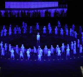 Φαντασμαγορικά σκηνικά - πανδαισία χρωμάτων σε μια ξεχωριστή Παραολυμπιάδα - Δείτε εντυπωσιακές εικόνες από την τελετή έναρξης των Παραολυμπιακών αγώνων (φώτο) - Κυρίως Φωτογραφία - Gallery - Video