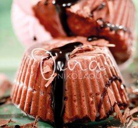 Η Ντίνα Νικολάου προτείνει χαλβά semifreddo: Σοκολατένιος και δροσερός – Σκέτη απόλαυση - Κυρίως Φωτογραφία - Gallery - Video