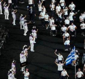 Βίντεο: Ολοκληρώθηκε η φαντασμαγορική τελετή έναρξης των Παραολυμπιακών αγώνων - Η εντυπωσιακή είσοδος της Ελλάδας  - Κυρίως Φωτογραφία - Gallery - Video