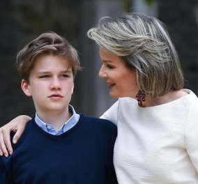 Ο πρίγκιπας Gabriel του Βελγίου έγινε 18 & φεύγει για Αγγλία: Οι throwback φωτό για τα γενέθλια του γιου της βασίλισσας Mathilde  - Κυρίως Φωτογραφία - Gallery - Video