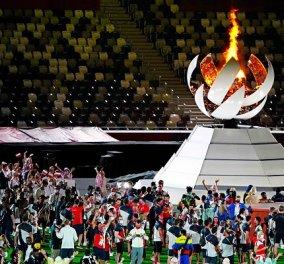Εικόνες και βίντεο από την τελετή λήξης των Ολυμπιακών Αγώνων του Τόκιο - Σημαιοφόρος της Ελλάδας ο Γιάννης Φουντούλης  - Κυρίως Φωτογραφία - Gallery - Video