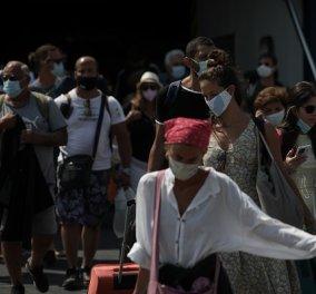 Κορωνοϊός - Ελλάδα: 3.625 νέα κρούσματα, 30 θάνατοι και 296 διασωληνωμένοι - Κυρίως Φωτογραφία - Gallery - Video