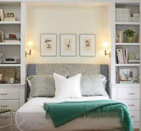 Σπύρος Σούλης: 13+1 ιδέες για να διακοσμήσετε το μικρό υπνοδωμάτιο - Κρεβατοκάμαρα - όνειρο (φώτο) - Κυρίως Φωτογραφία - Gallery - Video