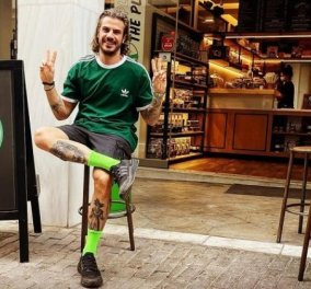 Ευτυχισμένος μπαμπάς ο Άκης Πετρετζίκης: Βόλτα για καφέ με την αγαπημένη του και τον μπέμπη τους (φωτό & βίντεο) - Κυρίως Φωτογραφία - Gallery - Video