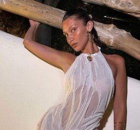 Ποια είναι η Ελληνίδα σχεδιάστρια Δήμητρα Πέτσα; - Η Bella Hadid φόρεσε το wet look φόρεμα της & κάνει θραύση (φώτο) - Κυρίως Φωτογραφία - Gallery - Video