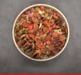Άκης Πετρετζίκης: Μας δείχνει πως να φτιάξουμε λαχταριστές Πατάτες σπιράλ με λουκάνικο, μπέικον και τυριά - Κυρίως Φωτογραφία - Gallery - Video