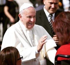 Μπράβο! Ο Πάπας Φραγκίσκος απερίφραστα: «Είναι πράξη αγάπης ο εμβολιασμός κατά του κορωνοϊού» (βίντεο) - Κυρίως Φωτογραφία - Gallery - Video