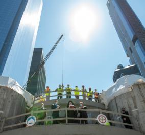 Συγκίνηση στη Νέα Υόρκη: Ο ναός του Αγίου Νικολάου θα λειτουργήσει ξανά μετά από 20 χρόνια - Είχε καταστραφεί στην 11η Σεπτεμβρίου  - Κυρίως Φωτογραφία - Gallery - Video