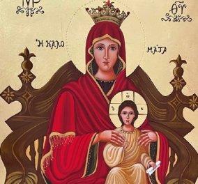Αποκλειστικό: Το eirinika παρουσιάζει για πρώτη φορά 18 σπάνιες μορφές της Παναγίας - Η αγιογράφος Ελένη Αντωνακάκη στις υπέροχες εικόνες της Γοργόνας - Θαλασσινής - Καλομάτας - Εσφαγμένης (φώτο)  - Κυρίως Φωτογραφία - Gallery - Video