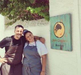 MasterChef: Η νικήτρια Μαργαρίτα πήγε στη Ρόδο και κάθε βράδυ τρώει στον συμπαίκτη της Τζιοβάνι – Το νέο look του Ιταλού μάγειρα (φώτο) - Κυρίως Φωτογραφία - Gallery - Video