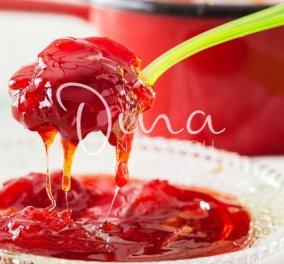 Η Ντίνα Νικολάου ξετρέλανε τους Γάλλους με αυτή τη συνταγή: Γλυκό του κουταλιού Καρπούζι - Τέλειο με παγωτό καϊμάκι  - Κυρίως Φωτογραφία - Gallery - Video