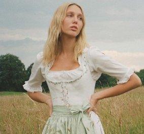 """Η πριγκίπισσα Ολυμπία με απίθανα φορέματα """"βλάχας"""" των Άλπεων - Το βουκολικό στυλ της κόρης του Παύλου (φώτο) - Κυρίως Φωτογραφία - Gallery - Video"""