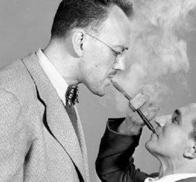 Πίπα για δύο: Μία αστεία φωτογραφία του 1949  - Κυρίως Φωτογραφία - Gallery - Video