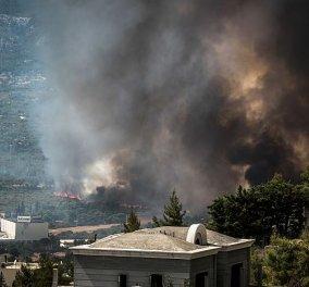 Άσχημη η κατάσταση με τα σωματίδια σε πολλές περιοχές της Αθήνας - Σύσταση για κυκλοφορία μόνο με μάσκα αυξημένης προστασίας (βίντεο) - Κυρίως Φωτογραφία - Gallery - Video