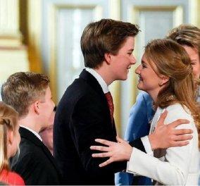 Ο πρίγκιπας Γαβριήλ του Βελγίου έκλεισε τα 18 - Δείτε φωτογραφίες από τη ζωή του όμορφου νεαρού που ποτέ δεν θα γίνει βασιλιάς  - Κυρίως Φωτογραφία - Gallery - Video