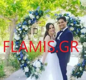 Ο γάμος που αναβλήθηκε λόγω πυρκαγιάς: Πώς εγκλωβίστηκε η νύφη στη Ζήρια - Έφτασε η φωτιά κοντά στο σπίτι της - Κυρίως Φωτογραφία - Gallery - Video