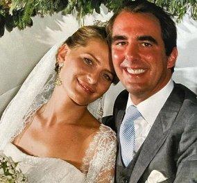 Επέτειος γάμου για την Τατιάνα Μπλάτνικ & τον πρίγκιπά της: «11 χρόνια ευτυχίας» - το υπέροχο νυφικό, ο κομψός γαμπρός Νικόλαος (φωτό) - Κυρίως Φωτογραφία - Gallery - Video