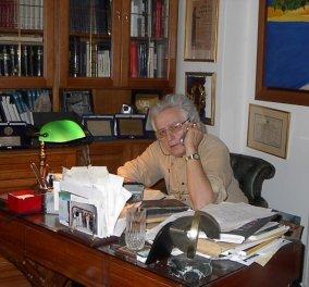"""Όταν ο σπουδαίος συλλέκτης Κώστας Ιωαννίδης μιλούσε για τα 600 έργα του: """"Όποιος δεν έχει κλάψει μπροστά σε έναν πίνακα ή μία γυναίκα είναι ανόητος"""" (φώτο) - Κυρίως Φωτογραφία - Gallery - Video"""