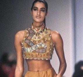 Ποια ήταν η Υasmeen topmodel των 90ς -Σαν Ελληνίδα θεά στο εμβληματικό μπουκάλι για το άρωμα του Givenchy - Μητέρα Γερμανίδα, μπαμπάς Πακιστανός (φωτό) - Κυρίως Φωτογραφία - Gallery - Video