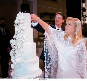 Talk of the town ο λαμπερός  γάμος της Κλέλιας Χατζηιωάννου - Η μεγάλη κυρία της ναυτιλίας παντρεύτηκε τον εκλεκτό της καρδιάς της Κωνσταντίνο Σκορίλα (φώτο) - Κυρίως Φωτογραφία - Gallery - Video