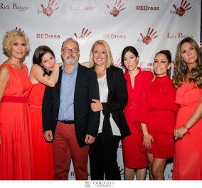 """Η Rich Passion - το luxury brand ασημένιων κοσμημάτων πραγματοποίησε φωτογράφιση με θέμα τα """"Κόκκινα φορέματα"""" - Διάσημες κυρίες στο project κατά της βίας εναντίον των γυναικών (φώτο) - Κυρίως Φωτογραφία - Gallery - Video"""