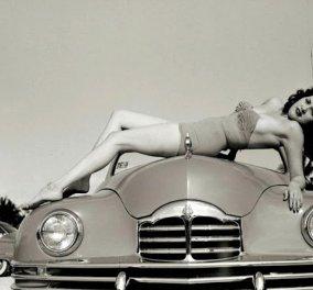 """Cool Vintage Pics: 30 """"άτακτα κορίτσια"""" του 50  θα σας κάνουν να χαμογελάσετε & να χαλαρώσετε! -- Σέξι πόζες & βλέμματα όλο υποσχέσεις...  - Κυρίως Φωτογραφία - Gallery - Video"""