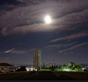 Εντυπωσιάζει βίντεο από λαμπρό μετέωρο που «φώτισε» τον νυχτερινό ουρανό - ορατή και από την Αττική η πτώση (φωτό) - Κυρίως Φωτογραφία - Gallery - Video