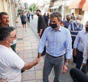 Μητσοτάκης από Κρήτη: Άμεσα 20.000 ευρώ στους σεισμόπληκτους, δεν θα πληρώσουν ΕΝΦΙΑ έως το 2023 (φωτό & βίντεο) - Κυρίως Φωτογραφία - Gallery - Video