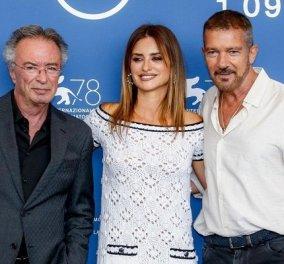 Οι 2 μεγαλύτεροι stars της Ισπανίας έκαναν απόβαση στη Βενετία: Penelope Cruz & Antonio Banderas - εκείνος στην ωριμότητα, εκείνη παιδούλα με Chanel (φωτό) - Κυρίως Φωτογραφία - Gallery - Video